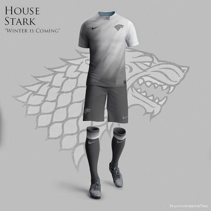 Conheça como seriam os uniformes de Game of Thrones - Guia do Boleiro