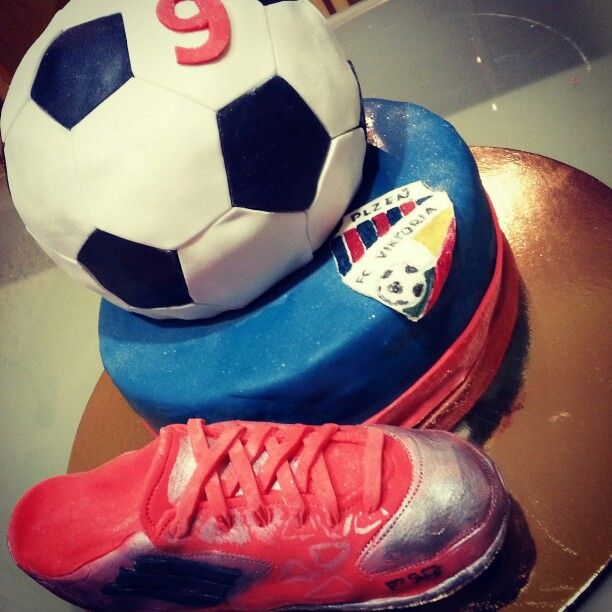 Cake#soccer#chocolate#vanilla#birthday#Pilsen#Czech#miss.enemy
