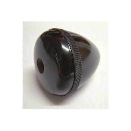 Poignée ronde noire baby-foot Bonzini - 6,40 €  #Jeux #Babyfoot #Bonzini