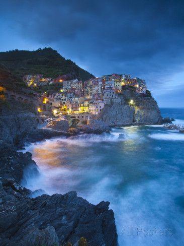 Manarola, Cinque Terre, Riviera Di Levante, Liguria, Italy Photographic Print by Jon Arnold at AllPosters.com