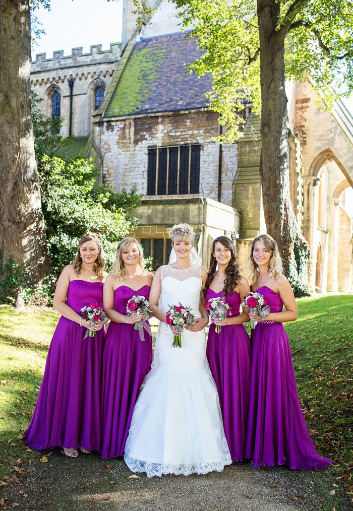 The 25  best Magenta bridesmaid dresses ideas on Pinterest ...