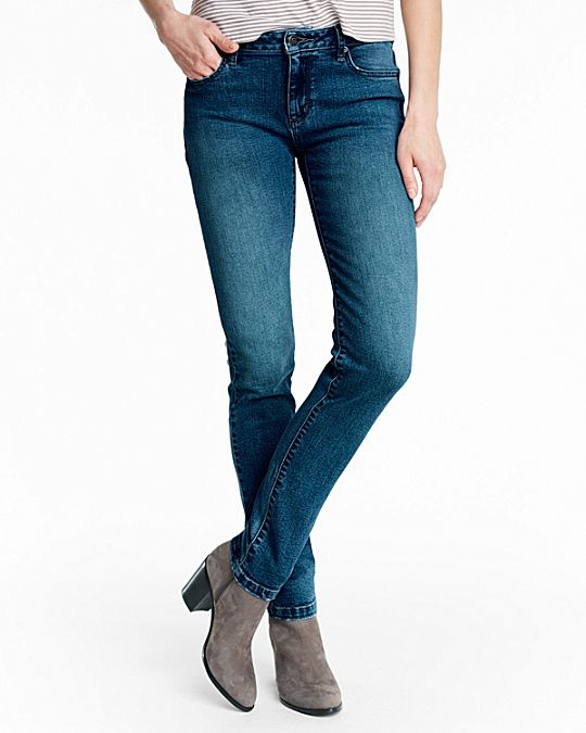 garnet hill signature slim jeans--$28 instead of $98 during the summer sale (as of mid-July)