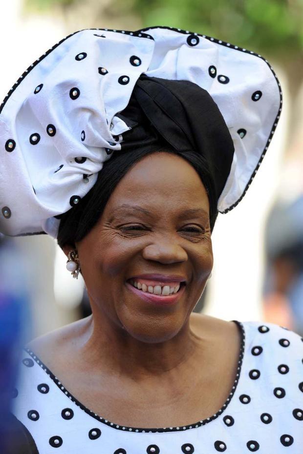 SONA 2013 Fashion | Mrs Meshoe, wife of ACDP leader Rev. Kenneth Meshoe | Moneyweb.co.za