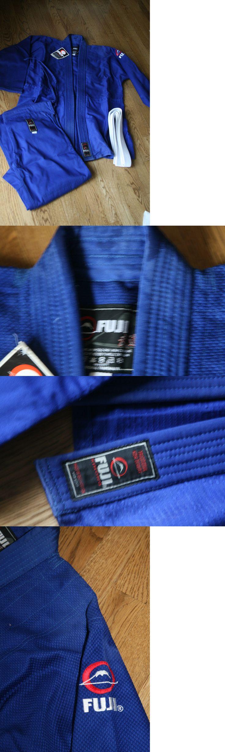 Uniforms and Gis 179774: Fuji Single Weave Judo Gi Blue Uniform W Belt Sz 8 Nwt -> BUY IT NOW ONLY: $35.99 on eBay!