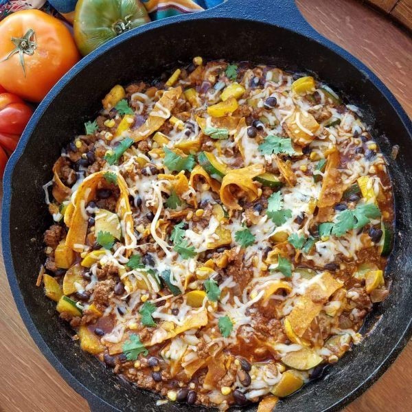 Chopped Enchilada Skillet | Clean Food Crush | Bloglovin'