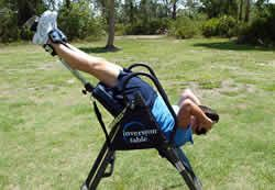 Inversion Table Exercises and Stretches