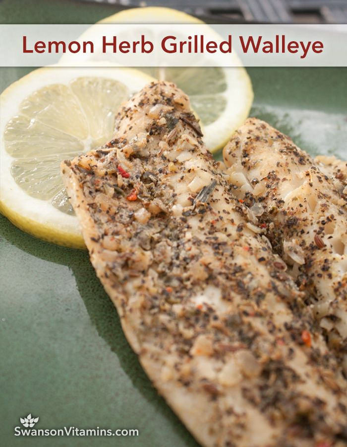 118 best featured swanson recipes images on pinterest for Walleye fish recipes