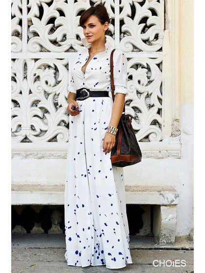 Choies Limited Edition Let's Wander Maxi Dress | Choies