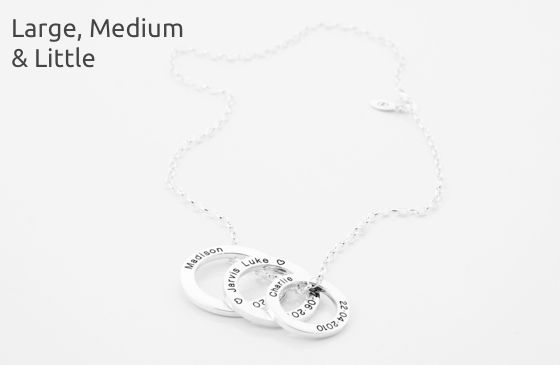 Picture of TREASURE | Silver | Blackened Engraving