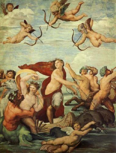 Итальянское искусство и живопись - «Триумф Галатеи» Рафаэля