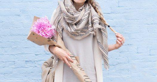 Schals und Tücher sind DIE Must-haves im Winter. Wir verraten euch, wie die Acc… – schal