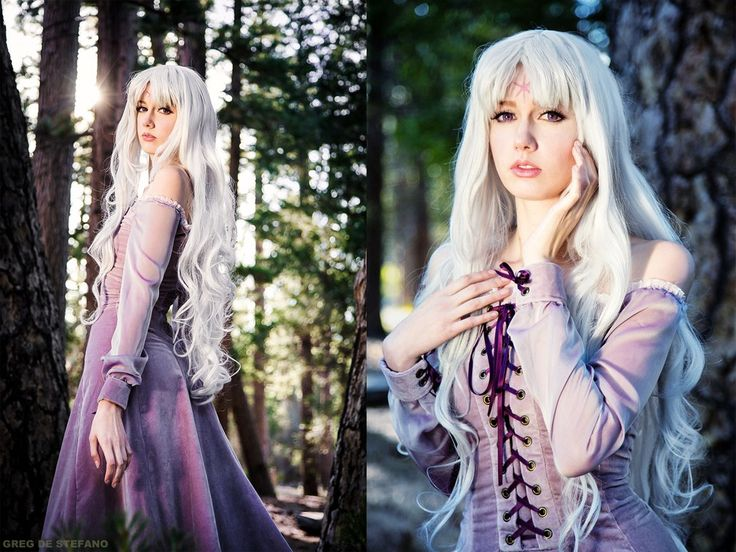 Lady Amalthea from The Last Unicorn! One of my favorite childhood films!! I've had friends encouraging me to make a Lady Amalthea costume for YEARS and finally was able to make it happen when gifte...