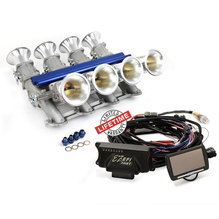 Chevy GM LS7 EFI Manifold & FAST EZ-EFI 2.0 Self-Tuning Fuel Injection System  | eBay
