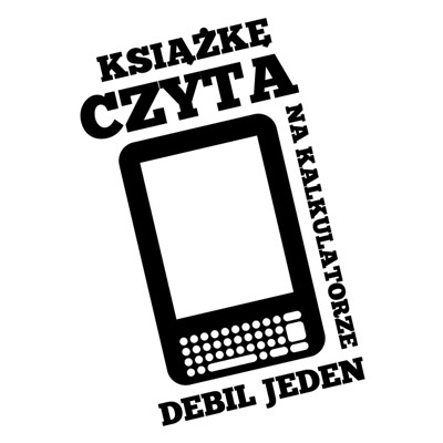 Koszulka dla fanów e-booków