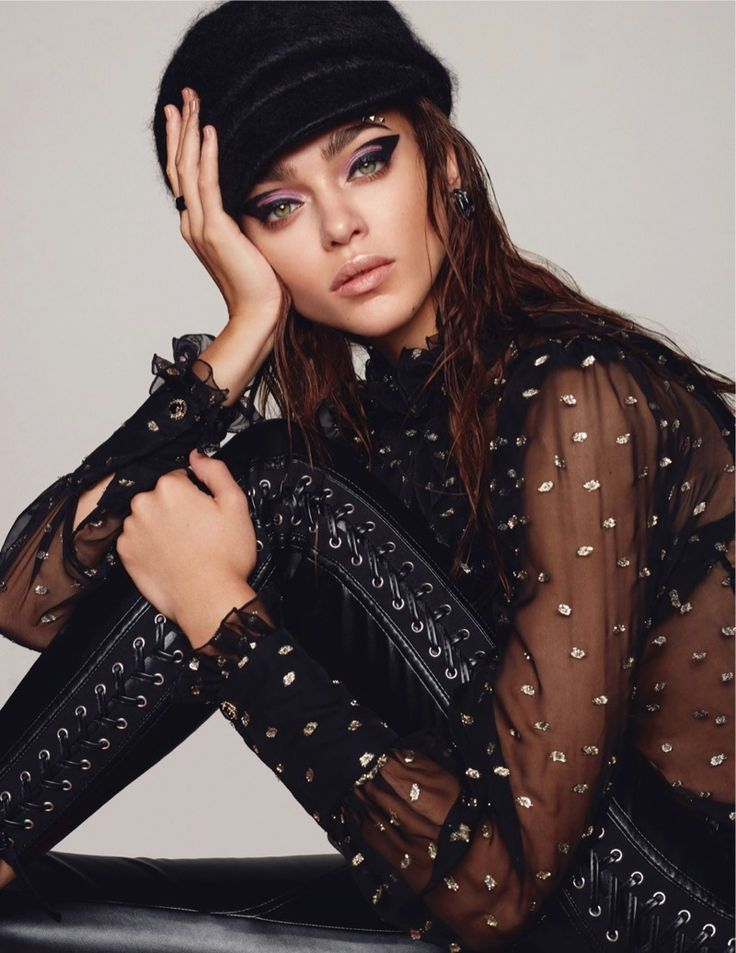 Zhenya Katava | Eyeshadow Makeup Editorial | L'Officiel Singapore