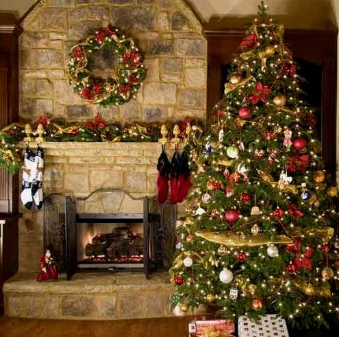 98 best Decoración navideña images on Pinterest Christmas time - chimeneas navideas