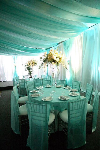 Tiffany Blue Wedding | Tiffany Blue Wedding Reception | Flickr   Photo  Sharing!