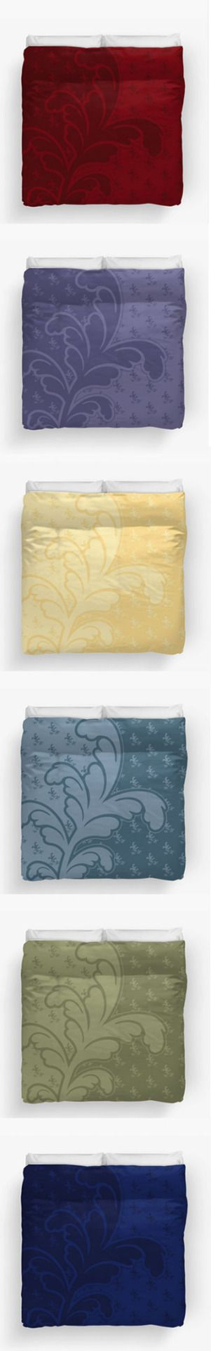 Colorful and warm Ferny Duvet Covers