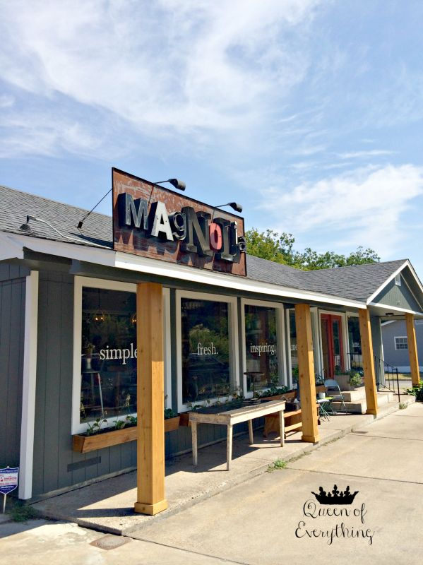 Magnolia Market | Waco, TX | Queen of Everything  #fixerupper #hgtv #magnoliamarket