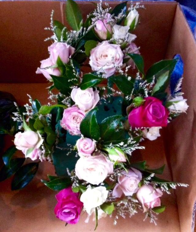 Corsages and buttonholes.