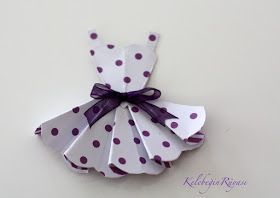 origami mini elbise, origami ekbise yapımı, origami elbise katlama, kağıttan elbise yapımı