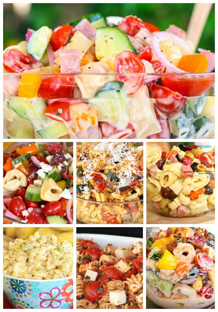 Potluck Perfect Summer Pasta Salads Summer Pasta Salad