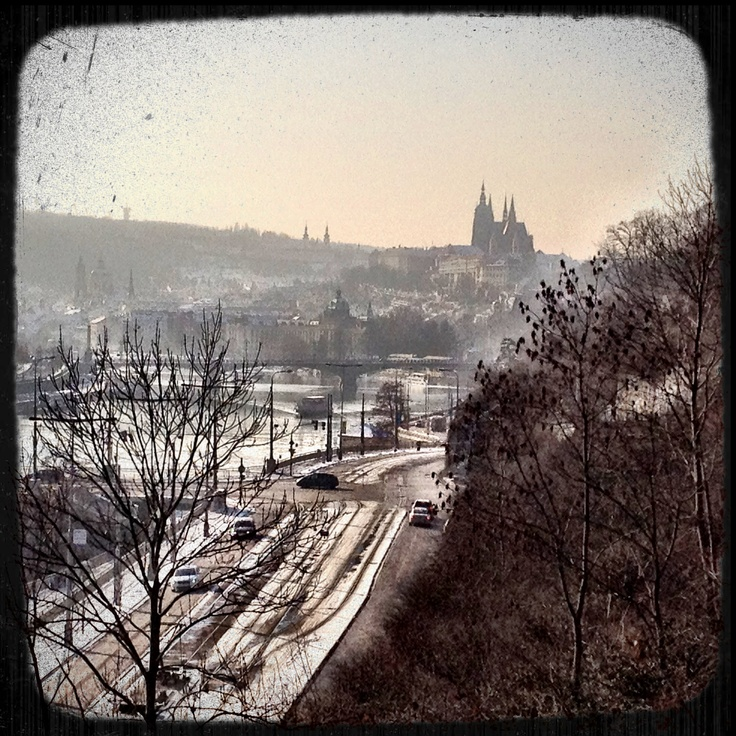 Hradčany from Letná Park