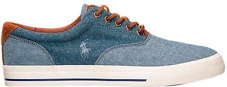 Men's Polo Ralph Lauren Vaughn Casual Shoes - Blue Chambray/Indigo