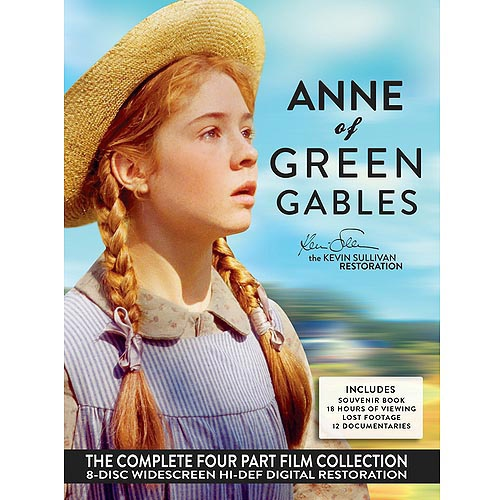 Anne Of Green Gables: The Kevin Sullivan Restoration (Full Frame)- The Complete Four Part Film Collection