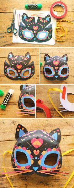 Laboratori per bambini maschere di carnevale 5