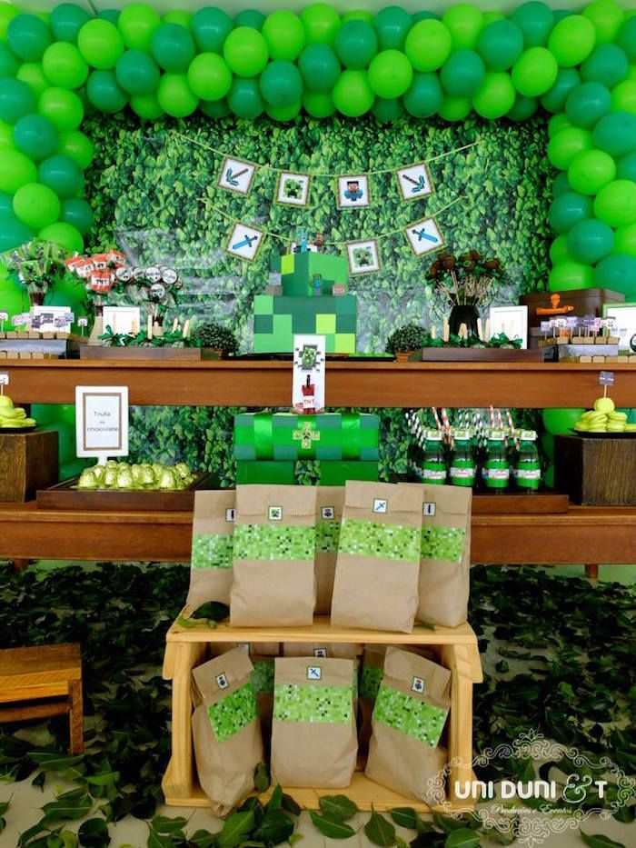 210 Best Images About Minecraft Party Theme On Pinterest