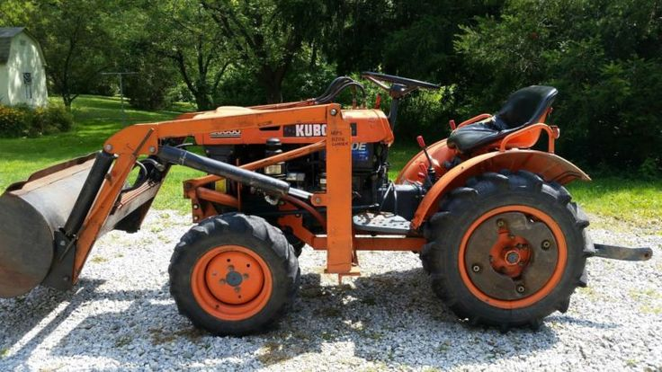 Kubota B7100 Loader Attachment : The best ideas about kubota compact tractor on