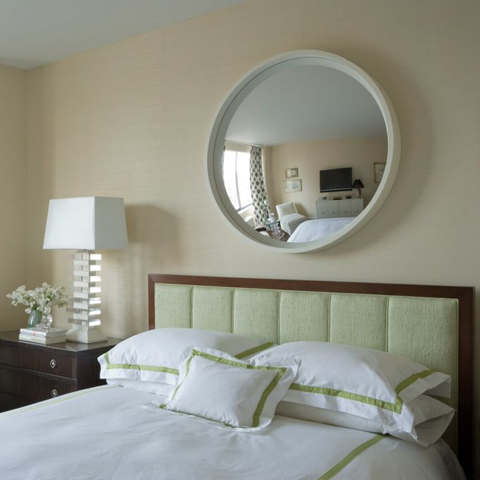 I want one of the above my bed. On the ceiling but I can't afford a round bed. Pazzo 38 convex mirror. So much more than this...