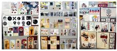 """Ncea Top Art exhibition """"The Blind Project"""" work by Danielle Forde, St Peter's School 2012"""