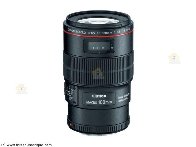 objectif CANON EF 100 mm f/2.8 L Macro IS USM en stock à prix discount - Miss Numerique