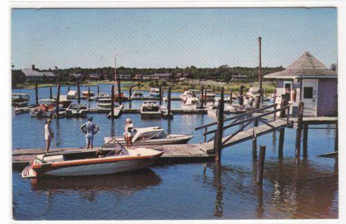 Boat Marina New Seabury Cape Cod Massachusetts Postcard   eBay