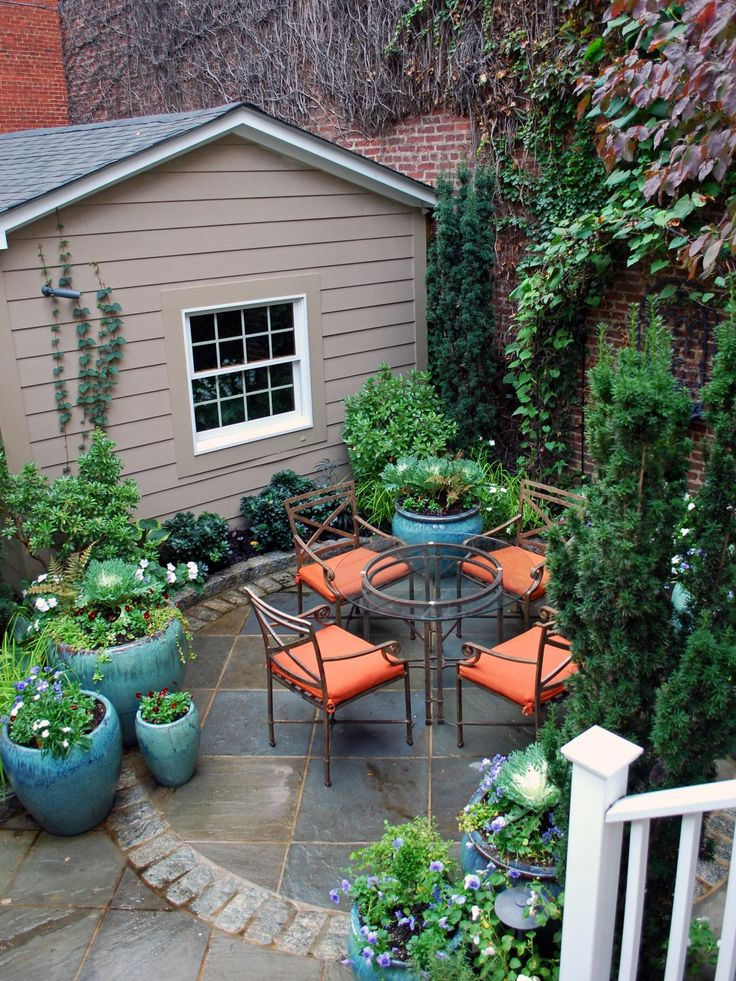 Optimize Your Small Outdoor Space. Landscaping IdeasPatio ...