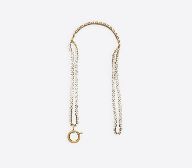 Luxury Jewellery Pieces - Scarf Necklace by Balenciaga ➤ Discover more luxury lifestyle news at www.covetedition.com @covetedition #covetedmagazine @covetedmagazine #luxurylifestyle #balenciaga @balenciagaparis