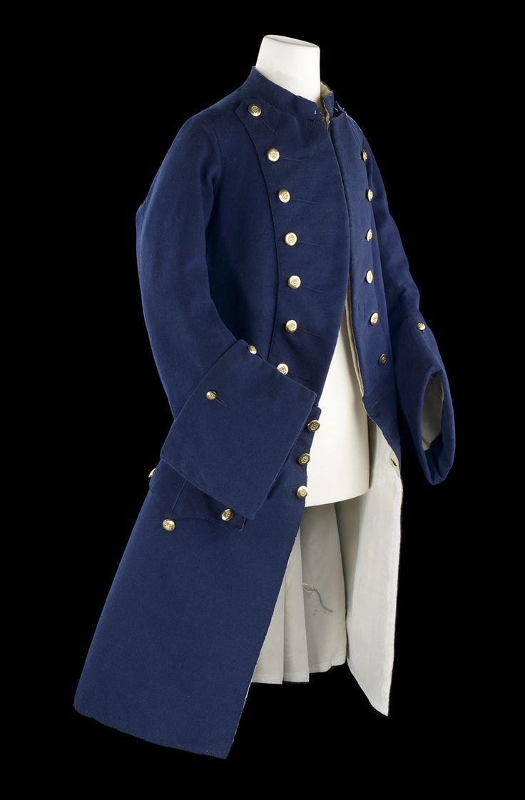 Royal Naval Uniform 1748-67