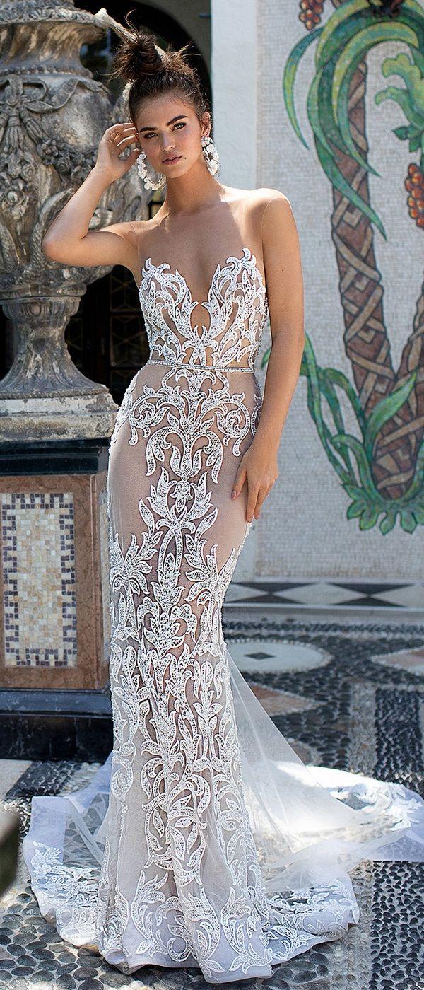 a2a8da1efa Berta illusion mermaid lace wedding dress 2019 collection  weddingdress   weddinggown  bertaweddingdress  weddinginspiration