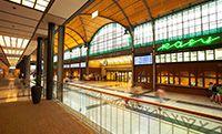 Wnętrze dworca Wrocław Główny