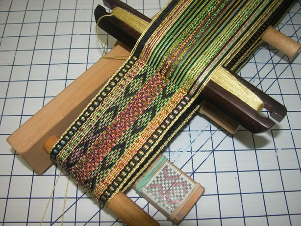 Daryl's Blog » Blog Archive » Inkle loom.  lots of interesting and beautiful things on her sites. #SteelCityFiber
