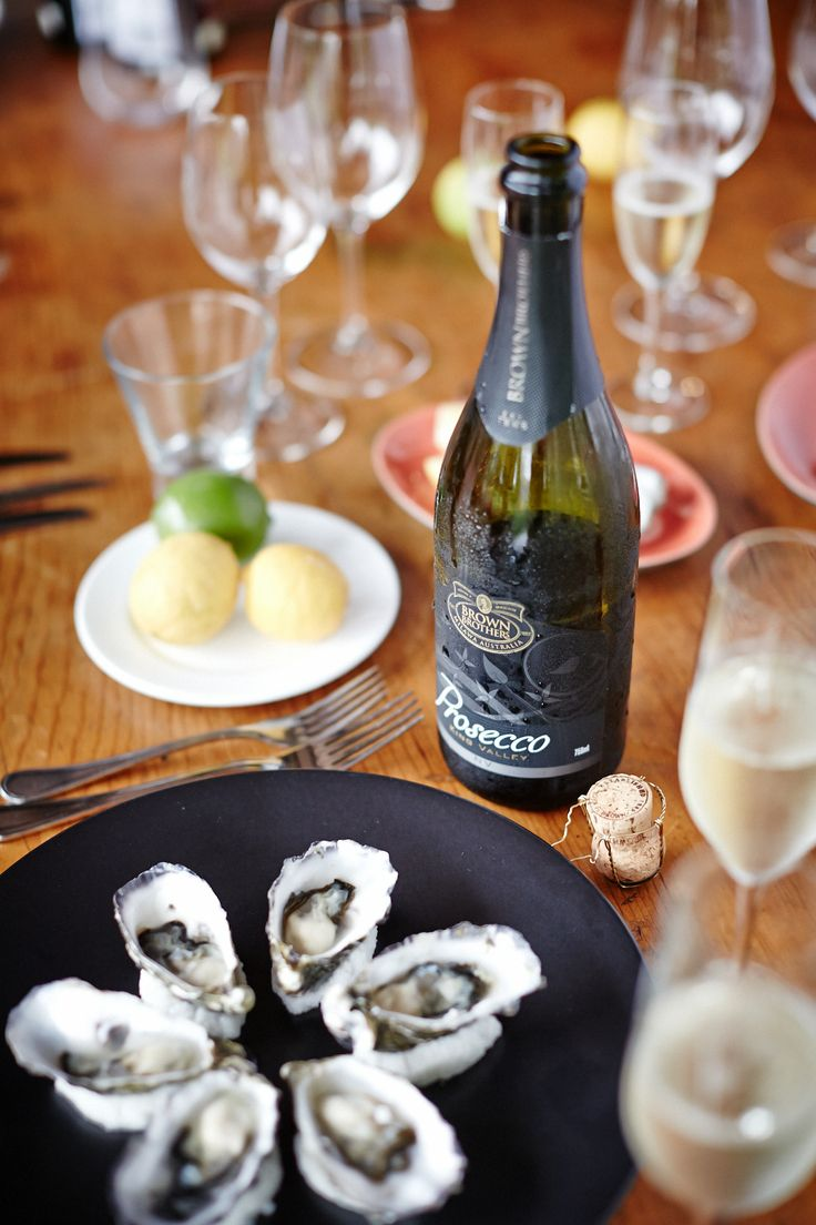 If your Mum loves seafood serve her Oysters and Prosecco - celebrate with style.