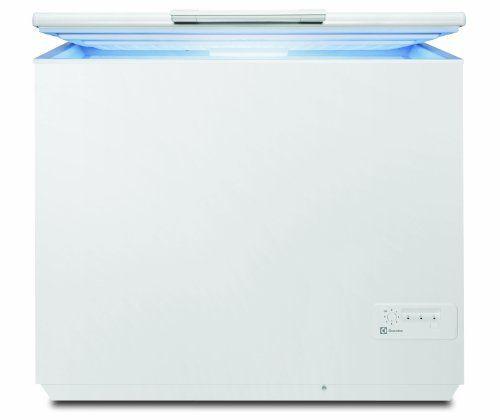 Electrolux EC3200AOW Congélateur coffre 300L Classe: A+ Blanc: Volume net : 300 L Classe énergétique : A + Type de dégivrage : manuel…