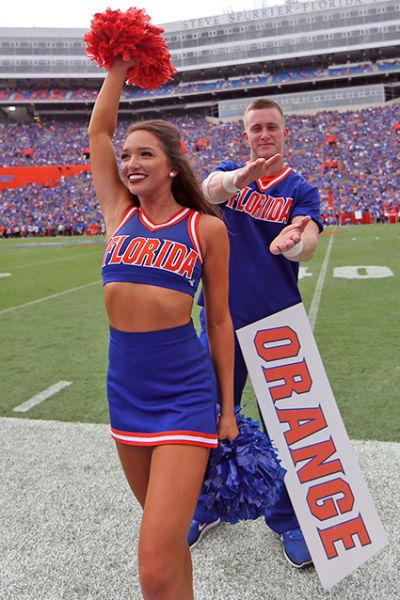 Heres a look at our favorite college cheerleaders from week 3 of the 2017 football season....