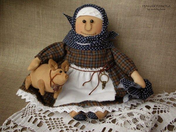 Ручная работа by natulja-best: Здравствуйте, я ваша тётя \ Hello I am your Aunt