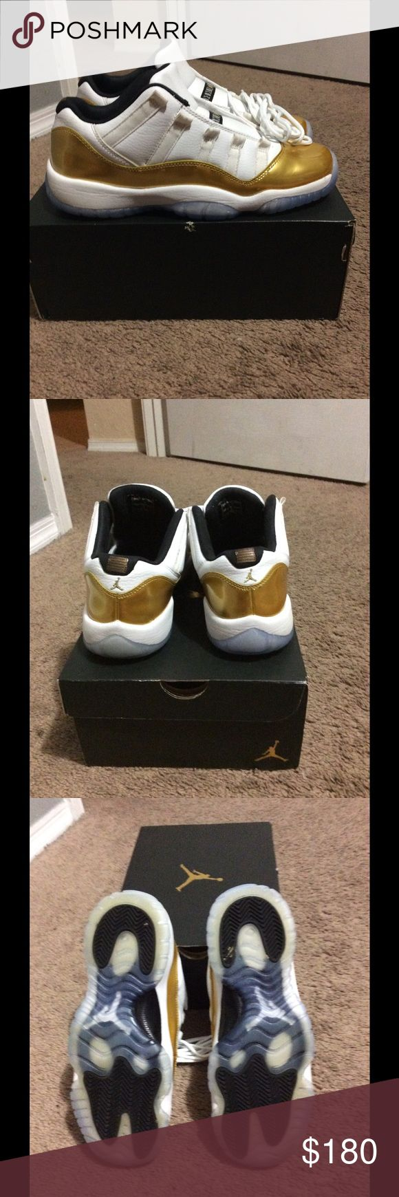 Jordan retro 11 low size 7y Size 7y retro 11 low worn like 5x just looking to get rid of Jordan Shoes Athletic Shoes