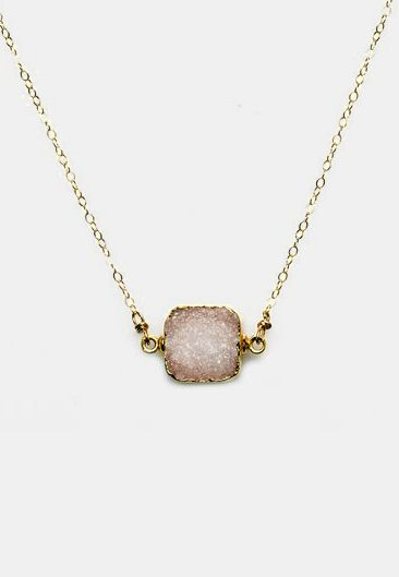 Aletha Clear Necklace