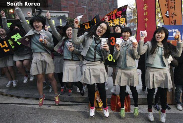 School Uniforms around the World - South Korea | Education ...