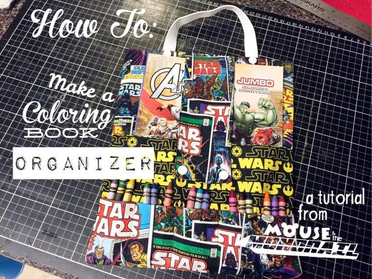Coloring Book Organizer : Die 44 besten bilder zu easy disney diy auf pinterest